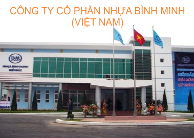 Domestic waste water treatment - Binh Minh Plastic Company